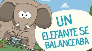 Un elefante se balanceaba | Canciones infantiles | Toobys