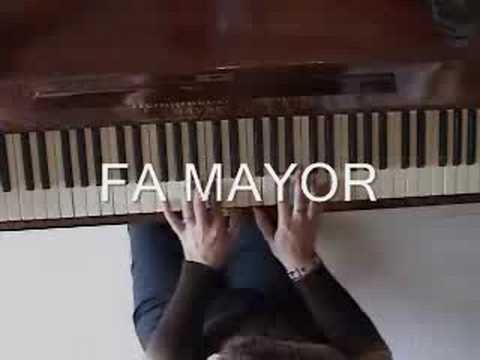 CURSO DE PIANO - IMPROVISAR EN DO MAYOR - Como improvisar- Nocturno del Hada -  - Improvisation