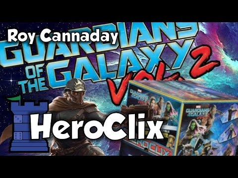 Guardians of the Galaxy, Vol. 2 HeroClix Review - with Roy Cannaday