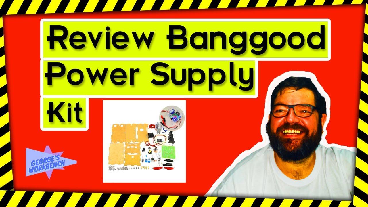 Review Banggood Diy Lm317 Adjustable Dc Power Supply Kit With Voltage Regulator Module Mpjacom Meter