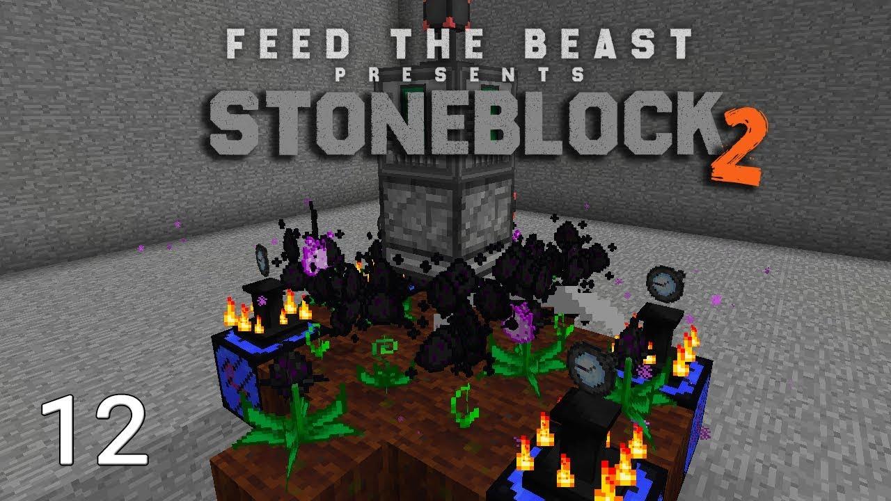 FTB Stoneblock 2 Insane EMC Farm Automation