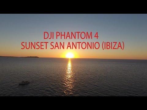 DJI PHANTOM 4 / Puesta De Sol San Antonio - Sunset (Ibiza)
