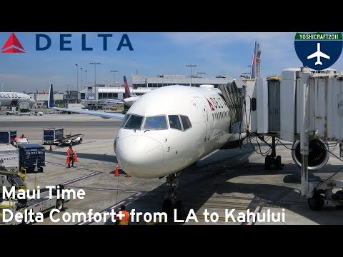 Maui Time - Delta Comfort+ From LA To Kahului (DL1219, LAX-OGG)