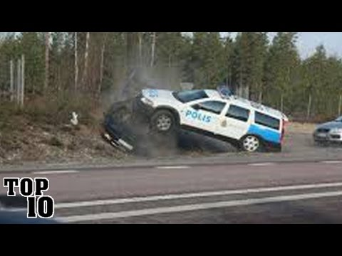 Top 10 Craziest Police Chases Caught On Camera