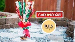 Het Maken van Een Kerst Snoep Boeket DIY l xolivi