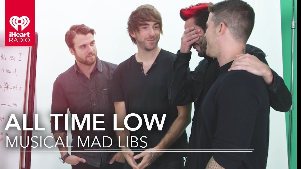 All Time Low Changes Their Lyrics Musical Mad Libs Youtube