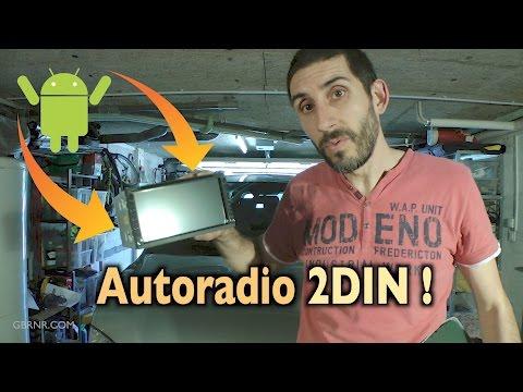 🔊 Rodius Autoradio 📻 Android Double DIN + Caméra de Recul + Ecran partie 1 / 3