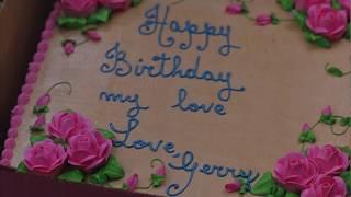 Необычный торт на день рождения ... отрывок из фильма (P.S. Я Тебя Люблю/P.S. I Love You)2007