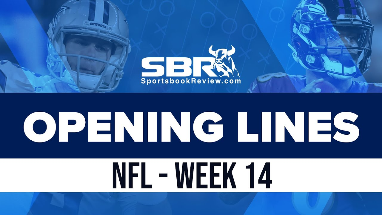 nfl week 14 early betting lines