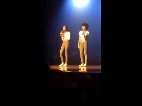 Jordyn and Tori Singing (Laurel High School Talent Show 2016)