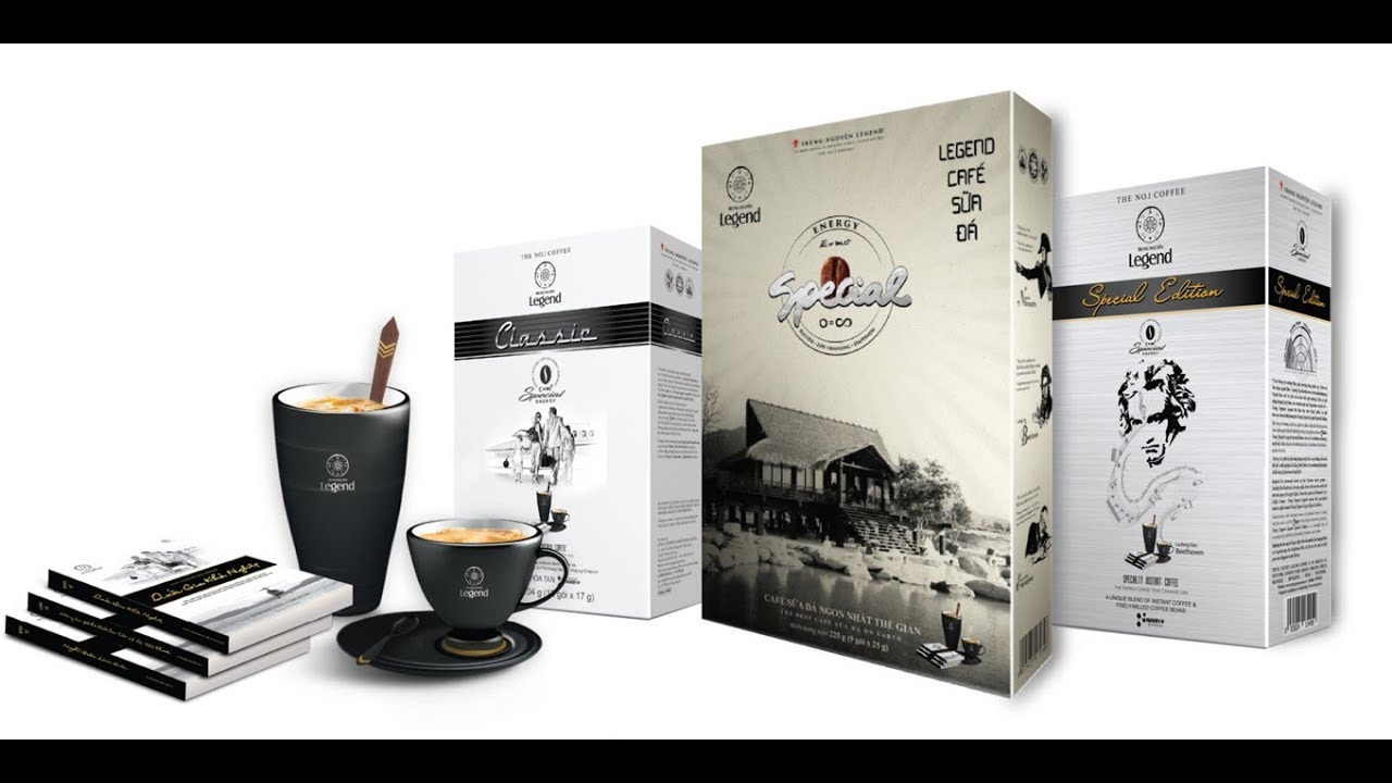 Chính thức ra mắt Hệ sản phẩm Cà phê Năng lượng Trung Nguyên Legend
