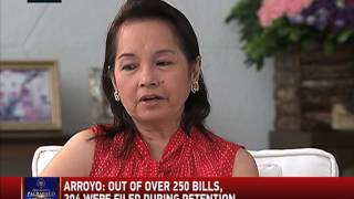 Why Arroyo feels 'very gratified' even in detention