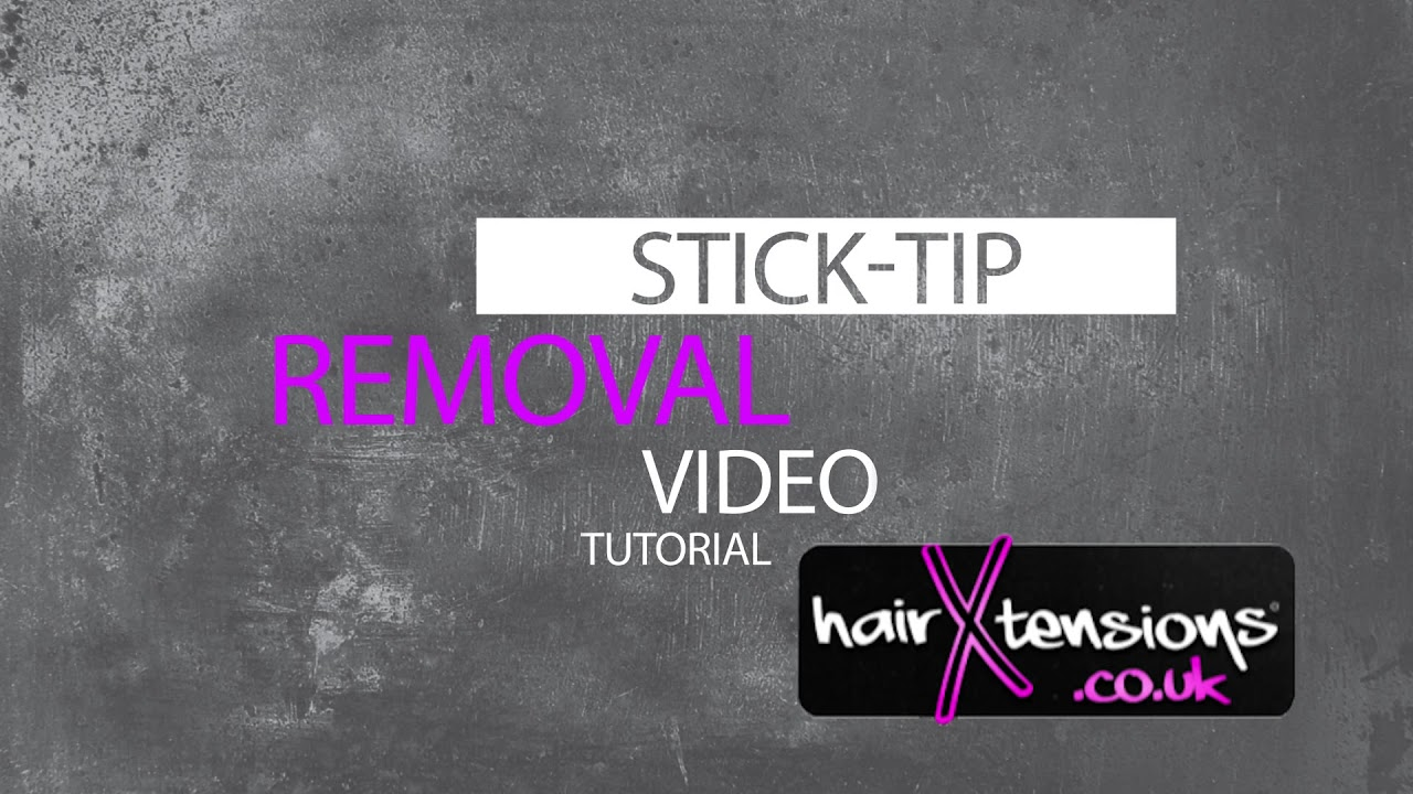 How To Remove Micro Rings Stick Tip I Tip Hair Extensions Tutorial