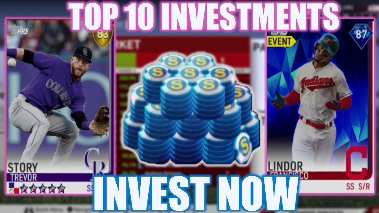 Top 10 Investments Right Now Pick Up These Cards To Make Stubs Mlb The Show 19 Diamond Dynasty