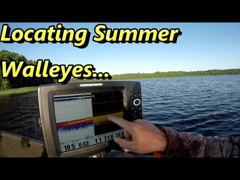 Locating Summer Walleyes On A New Body Of Water
