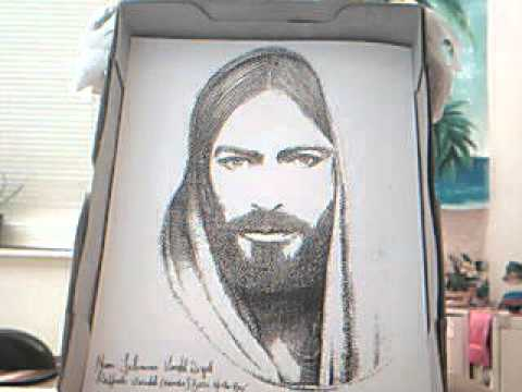 how to draw jesus hands