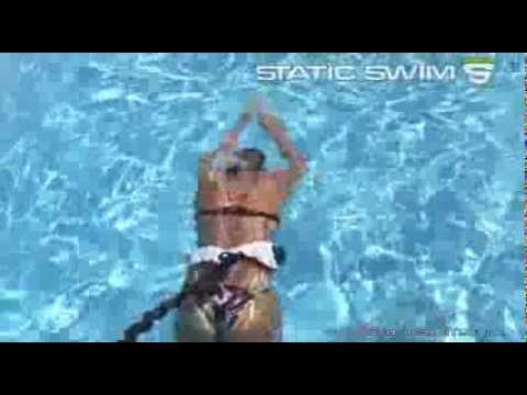 Ceinture de nage avec lastique pour nager dans sa piscine faire des exercic - Elastique pour nager piscine ...