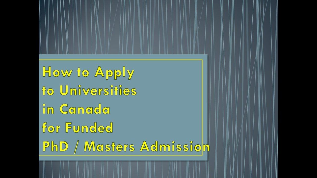 Phd in us universities