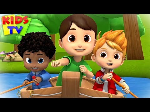 Row Row Row Your Boat + More Nursery Rhymes & Baby Songs By Kids TV