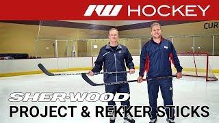 Sherwood Project 9 & Rekker EK365 Stick Lines // On-Ice Insight