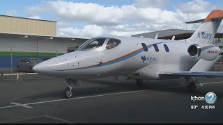 Air ambulance company adds new jet to fleet