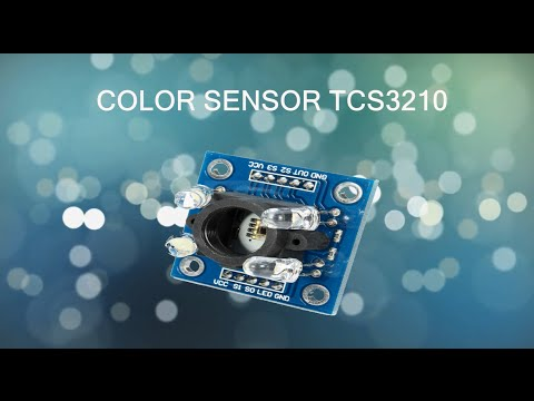 How to use the Color Sensor with Arduino board (TCS3200 & TCS3210)