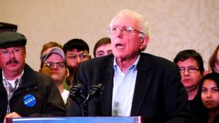 Bernie Sanders -  Reno, Nevada - December 27, 2015