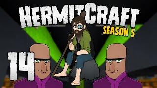 HermitCraft 5 - #14 | What's INSIDE Richard?!  [Minecraft 1.12]
