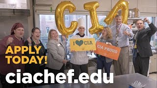 Surprise! You've Been Accepted to The Culinary Institute of America!