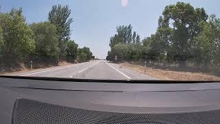 Estrada em trabalho alentejo Portalegre Portugal