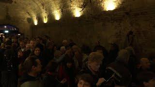 Cold War escape tunnel opens under Berlin Wall