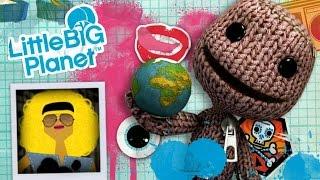 Прохождение LittleBigPlanet 1 - КООПЕРАТИВ с НАСТЕЙ - The Metropolis (Метрополис) #5