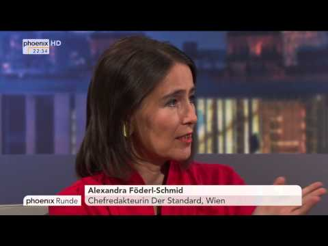 """""""Das Flüchtlingsdrama – Versagt Europa?"""" - phoenix Runde vom 01.09.2015"""