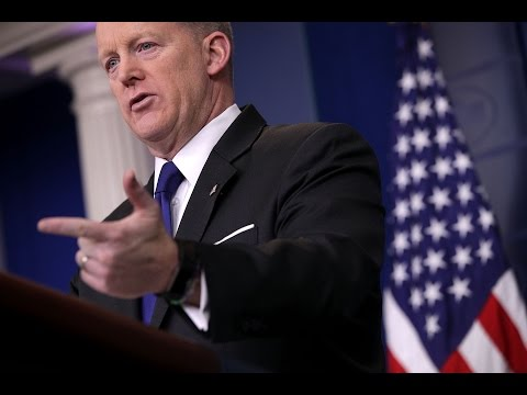 Spicer asked if anyone in the White house is a foreign agent