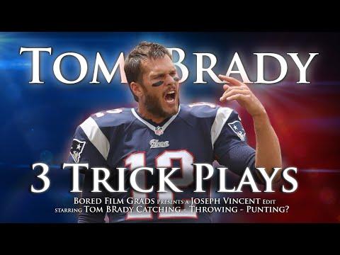 Tom Brady - 3 Trick Plays (Daily Sports Highlights)