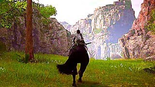 Shadow of the Colossus Gameplay Demo PS4 (2018)