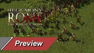 Hegemony Rome: The Rise of Caesar - Preview/Gameplay - Games-Panorama HD DE