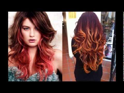 Стрижки и окрашивания 2016 на длинные волосы