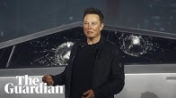 'Armour glass' windows on new Tesla Cybertruck shatter during demonstration
