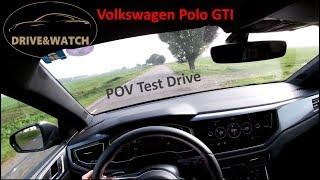 2019 Volkswagen Polo GTI // POV Test Drive