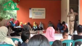 Launching dan Penimbangan Perdana Bank Sampah Melati Bersih Sawangan Elok