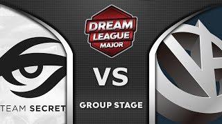 Secret vs VG Leipzig Major DreamLeague 2020 Highlights Dota 2