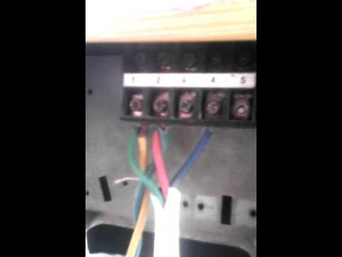 sanyo 1 5 ton ac connection indoor power supply youtube  sanyo split ac wiring diagram #12