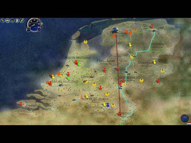 ♦ LOGISTICAL ♦ #36│Gestión y Puzzle │The Netherlands 11│Carreteras 100%