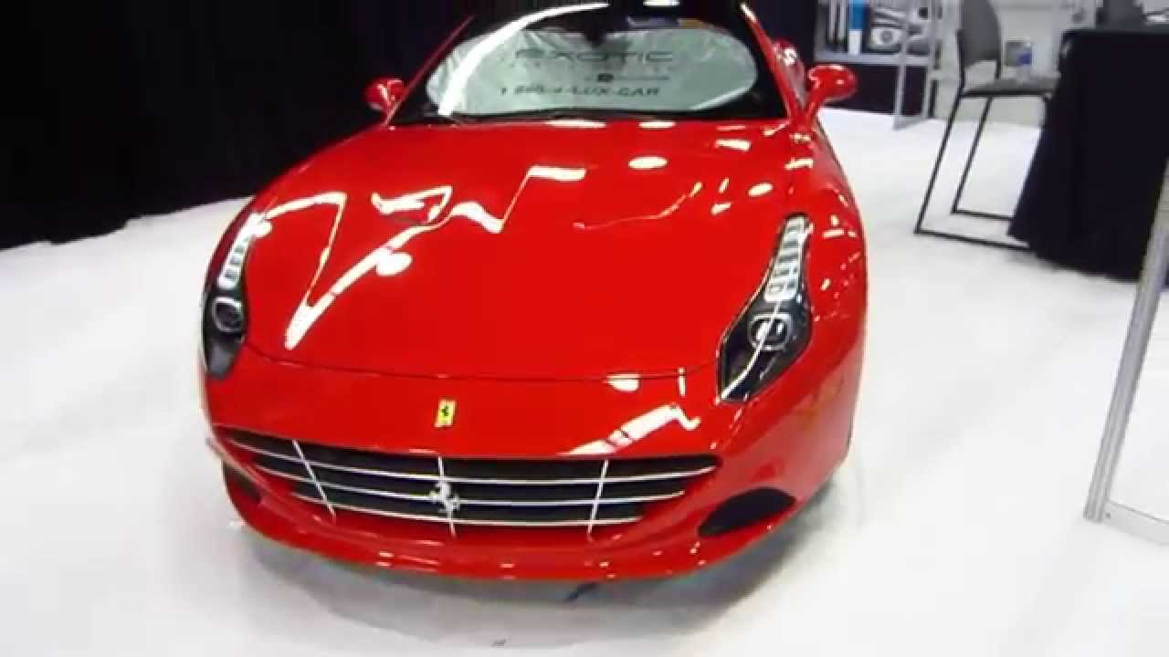 Enterprise Exotic Rental Car Collection Oc Auto Show Anaheim Orange County California 10 16 15