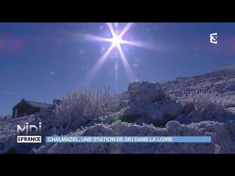 Chalmazel : une station de ski dans la Loire - YouTube