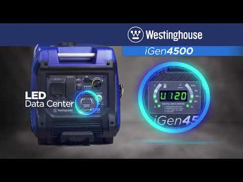 Westinghouse iGen4500 Super Quiet Portable Inverter Generator  Review 2019