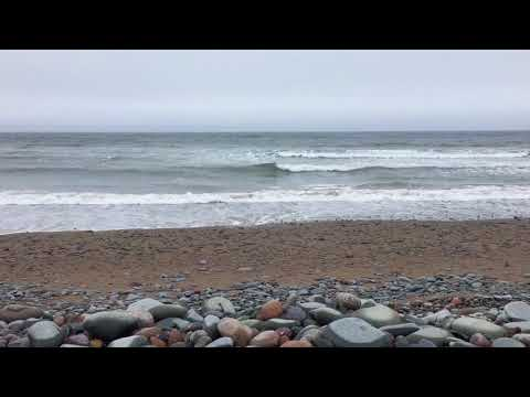 UX Nature - 3 minute meditation waves at Lawrencetown Beach Nova Scotia