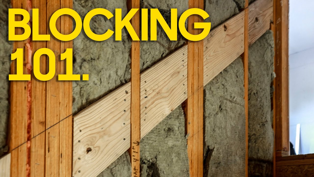5 Critical Blocking Areas. Watch this before Drywall!