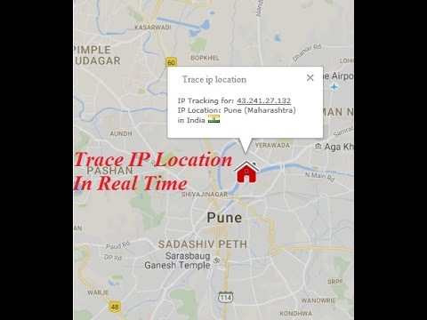 how to trace location of ip address